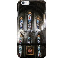Hexham Abbey, the Nave. iPhone Case/Skin