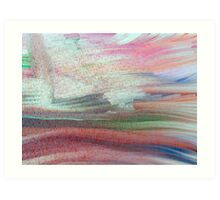 Lyrical Abstract Art Print
