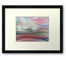 Lyrical Abstract Framed Print