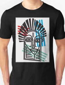 Life Lines  -  Face,  No.4 Unisex T-Shirt