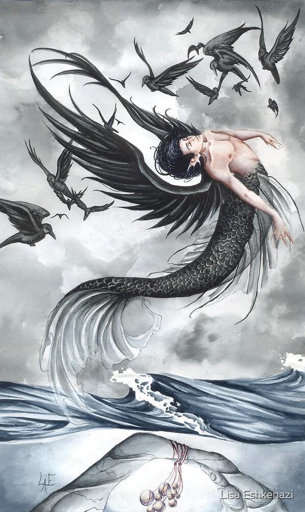 Raven Waves by Lisa Eshkenazi