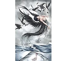 Raven Waves Photographic Print