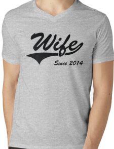 Wife Since 2014 Mens V-Neck T-Shirt