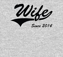 Wife Since 2014 Womens Fitted T-Shirt