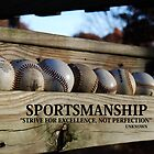 sportsmanship by Geri Bragg
