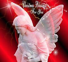 Christmas Angel by Marie Sharp
