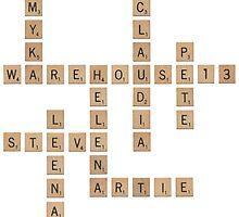 Warehouse Scrabble by dysfnctnlysane