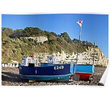 Boats At Beer 2 Poster
