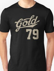 Cool Baseball-Style 'Gold 79 (AU)' Periodic Table Element T-Shirt and Accessories T-Shirt