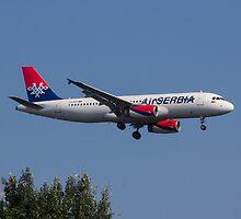 Air Serbia Airbus A320 by Julia Gutgesell