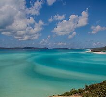 Whitehaven Beach, the Whitsundays by Greta van der Rol