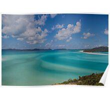 Whitehaven Beach, the Whitsundays Poster