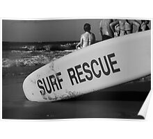 Surf Rescue Poster
