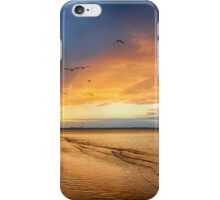 Stormy sunset Hervey Bay iPhone Case/Skin