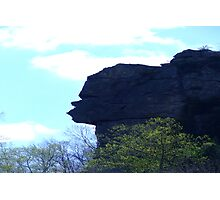 Stone Face Rock Photographic Print