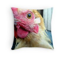 Curious... Throw Pillow