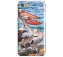 Three pelicans  iPhone Case/Skin