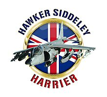 Hawker Siddeley Harrier Photographic Print