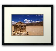 Empty! Framed Print