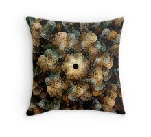 Cloud Mist Tea Throw Pillow
