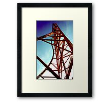 Top Thrill Dragster Framed Print