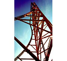Top Thrill Dragster Photographic Print