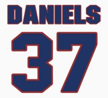 National Hockey player Jeff Daniels jersey 37 by imsport