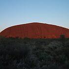Ayers rock sunrise by John Witte