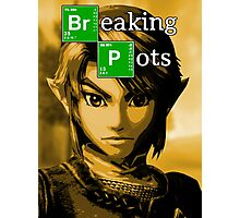 Breaking Pots Photographic Print