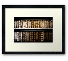 Bookshelf, Prague Framed Print