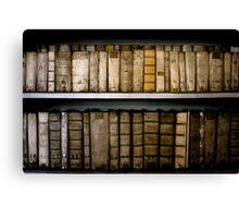Bookshelf, Prague Canvas Print