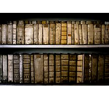 Bookshelf, Prague Photographic Print