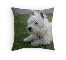 It's a hard old life! Throw Pillow