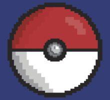 Pixel Pokeball by EIDO