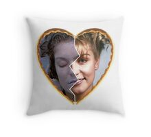 Twin Peaks - Laura [Heart] Throw Pillow