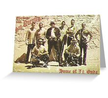 Greetings from San Quentin Greeting Card