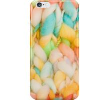 Bright knit background iPhone Case/Skin