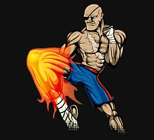 Tiger Knee Sagat Unisex T-Shirt