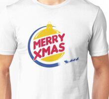 Burger Xmas Unisex T-Shirt