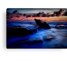 Idle Rock Canvas Print