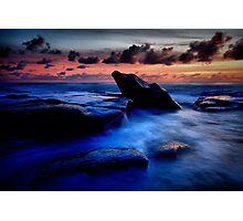 Idle Rock Photographic Print