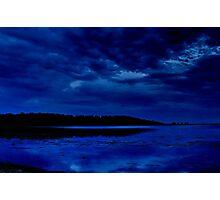 """Nightime Blues"" Photographic Print"
