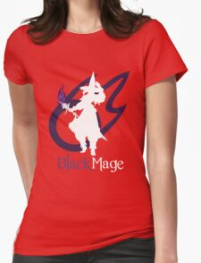 Black Mage - Final Fantasy XIV [black] Womens Fitted T-Shirt