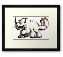 Avatar The Last Airbender: Appa Framed Print