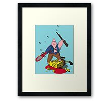 Ashtrick SpongiteHunter Framed Print