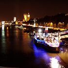 Thames by Night by Grem