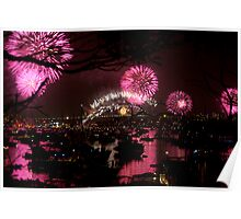 SYDNEY HARBOUR RED Poster