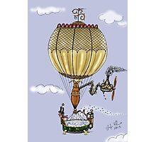 STEAMPUNK HOT AIR BALLOON Photographic Print