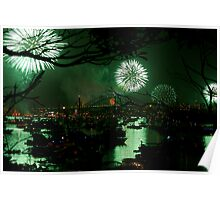 SYDNEY HARBOUR GREEN Poster