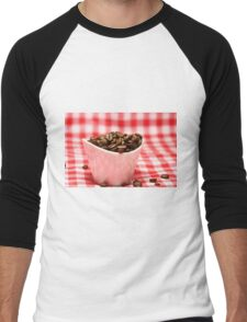 Coffee beans Men's Baseball ¾ T-Shirt